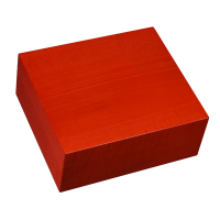 Elie Bleu Fruit Collection Red Humidor - 50 Cigar Capacity