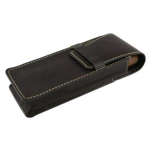 Brown Leather Fold Over Cigar Case - Hold 2 Large Cigars