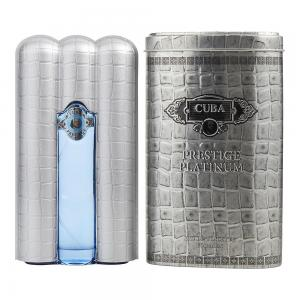 Cuba Prestige Platinum Eau de Toilette Spray for Him 90 ml