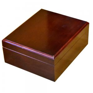 SLIGHT SECONDS - Montana Cherry Cigar Humidor - 50 Capacity