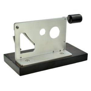 Desk Top Twin Cut Guillotine Cigar Cutter 32 and 54 Ring Gauge